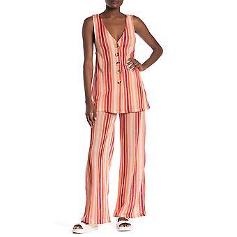 Free People | Bridget Striped Vest & Pants Set