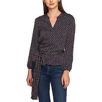 1.State | Wrap-Front Daisy Blouse