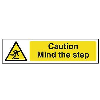 Scanare Atenție Mind Pasul - PVC 200 x 50mm SCA5109