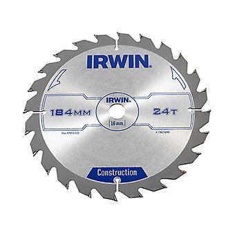 IRWIN Professionelle Kreissäge 184 x 16mm x 24T - Holz IRW1907699
