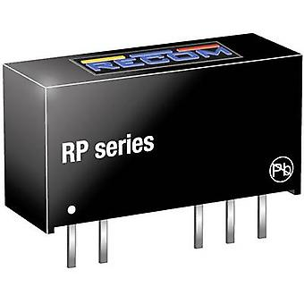 Convertidor RECOM RP-1212D DC/DC (impresión) 12 1 W No. de salidas: 2 x