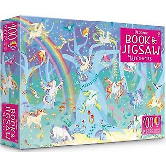 Usborne Unicorns Book & Jigsaw 100 pieces