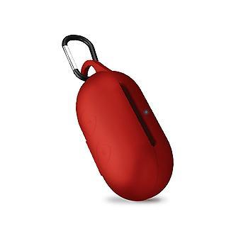 Kotelo Iskunkestävä suojakotelo solki Samsung Galaxy Buds punainen