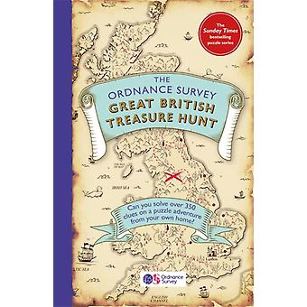 The Ordnance Survey Great British Treasure Hunt  Can you solve over 350 clues on a puzzle adventure from your own home by Ordnance Survey
