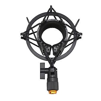 Black Plastic 45mm Mic Shockmount Stand for Condenser Microphones