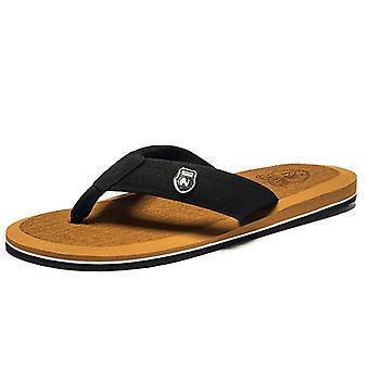الرجال الوجه يتخبط الصيف الشاطئ الصنادل النعال أحذية غير زلة