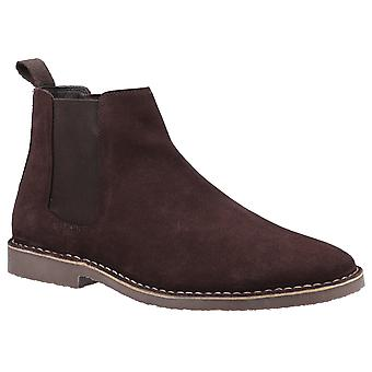 Hush Puppies Mens Eddie Suede Chelsea Boots