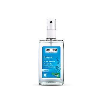 Weleda Salvia Desodorante 100% Origen Natural Spray 100 Ml Unisex