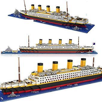 1860pcs No Match Lepining Rms Titanic Crucero Crucero Modelo Boat Blocks (66503no