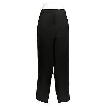 BROOKE SHIELDS Women's Plus Pants Timeless Regular Ankle Black A342011