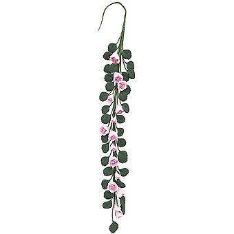 دمى البيت تسلق بيبي الوردي الورود مصغرة زهرة كرمة حديقة التبعي