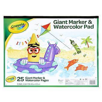 Riesige Marker & Aquarell Pad