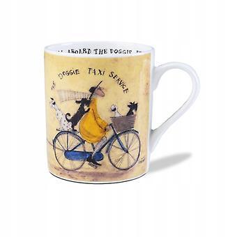 Sam Toft The Doggie Taxi Service Mug