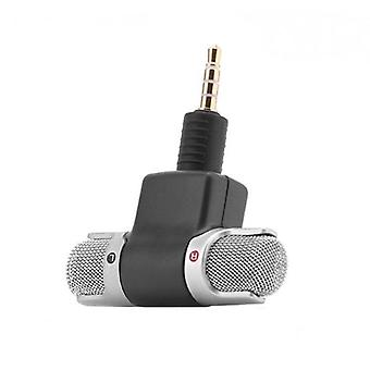 Omnidirectional Mini Audio Microphone - 3.5mm Jack Used For Voice Lecture