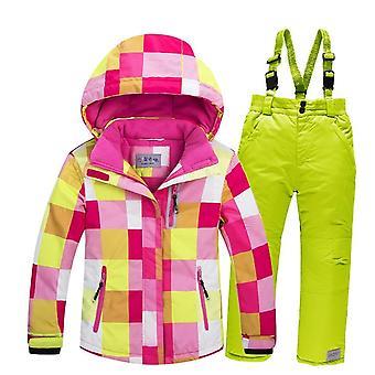 Windproof Warm Fleece Snow Suit
