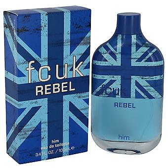 FCUK Rebel door French Connection Eau De Toilette Spray 3.4 oz/100 ml (mannen)
