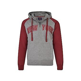 KAM Jeanswear Sherpa Lined New York Hoody