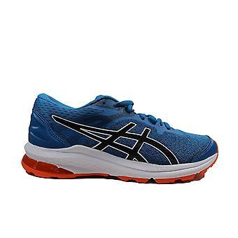 Asics GT-1000 GS Reborn Blue/Black Mesh Childrens Running Trainers