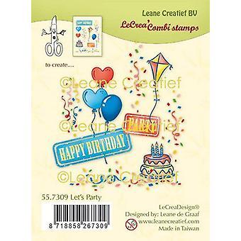 Lecrea - Clear Stamp Combi Let's Party 55.7309