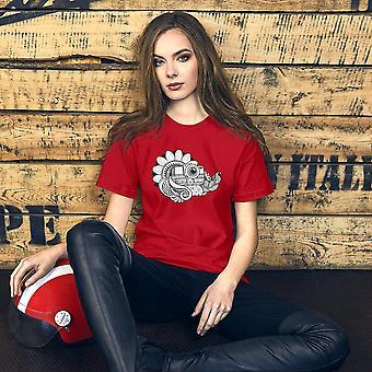 Camera Art - T-shirt photographer with short sleeves, women