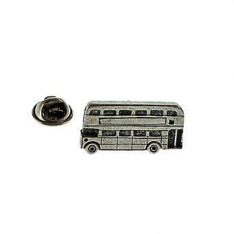 Routemaster Doppeldecker Bus Zinn Anstecknadel