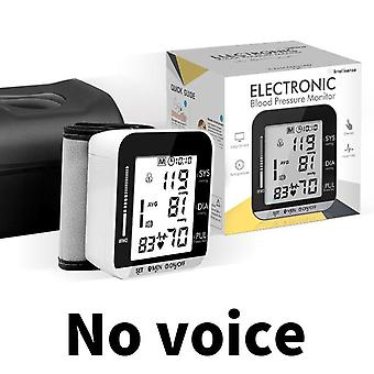 Digital blood pressure monitor automatic tonometer meter for measuring arterial pressure cuff sphygmomanometer health care