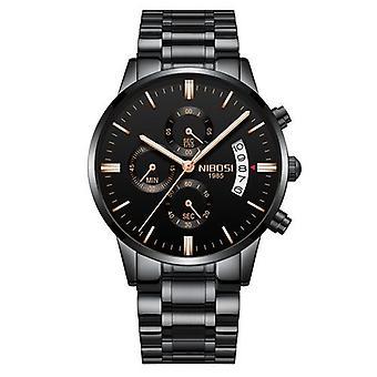 Miesten kellot, Luxury Men's Rento Mekko Watch, Sotilaallinen Kvartsi Rannekellot
