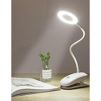 Usb Rechargeable Led Desk Lamp, Flexible Touch Dimming Table Light