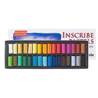 Inscribe IMPS32 Soft Pastel Set 32 Colours