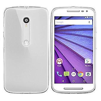 Colorfone Motorola Moto G 2015 Kuori (läpinäkyvä)