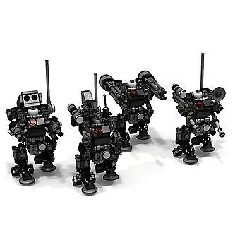 Mini Tatical Sniper Trooper Modell Liten Partikkel Byggestein