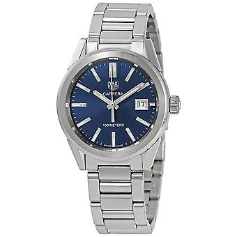 Tag Heuer Carrera Midsize Blue Dial Stainless Steel Watch WBG1310.BA0758