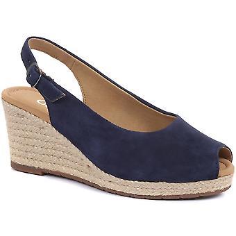 Gabor Womens Tandy Slingback Wedge Sandals