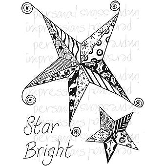 Lindsay Mason Designs Zendoodle Star Bright Ready To Go A6 Clear Stamp