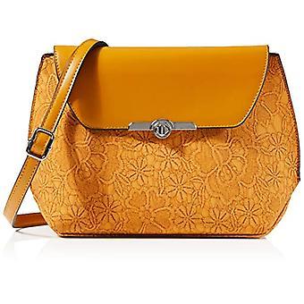 N.V. Bags 328 Woman HANDBAG FOR WOMEN, Mustard, One Size