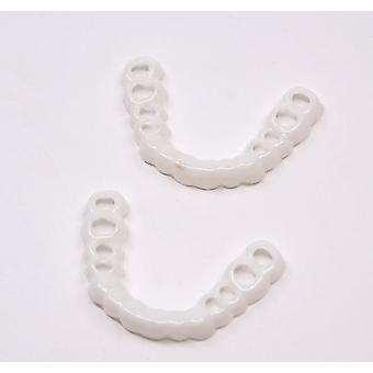 2Pcs lavere tænder perfekt smil finer komfort pasform, flex protese pasta seler az7300