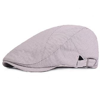 כותנה כומתות שטוח כובע נוער יוניסקס