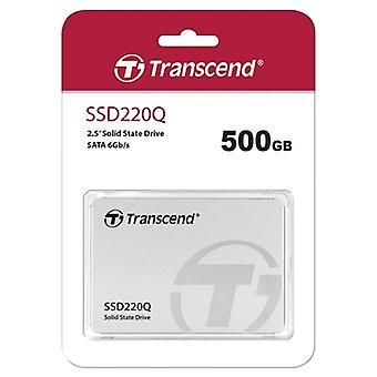 Transcend 500GB SSD220Q 2.5inch SATA III SSD Drive - 550MB/s