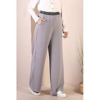 High Waist Wide Leg Comfy Modest Pants