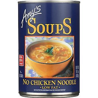 Amys Soup No Chkn Ndle, Case of 12 X 14.1 Oz