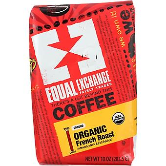 Equal Exchange Coffee Grnd Frnch Rst Org, Case of 6 X 10 Oz