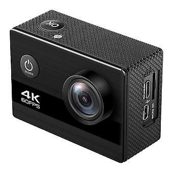 كاميرا الرياضة الساخنة 4k 60 الإطار HD كاميرا للماء 2.0 بوصة IPS كاميرا تحت الماء ركوب الدراجات الرياضة كاميرا DV