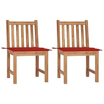 vidaXL כיסאות גן 2 יח'.