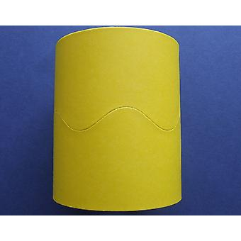 Canary Yellow 15m Scalloped Smooth Bordette Classroom Border Roll