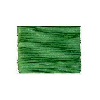 20m vihreä vahattu puuvilla 1mm string threading käsityöt | Johto & Elastinen