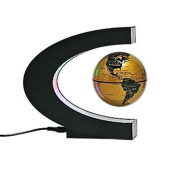 C Shaped Magnetic Levitation Globe For Desk
