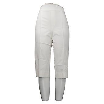 Isaac Mizrahi En direct! Leggings Régulier 24/7 Stretch Pedal Pushers Blanc A377472