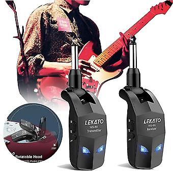 2.4ghz Guitars Signal Transmitter Receiver Rechargeable For Guitar Wireless System