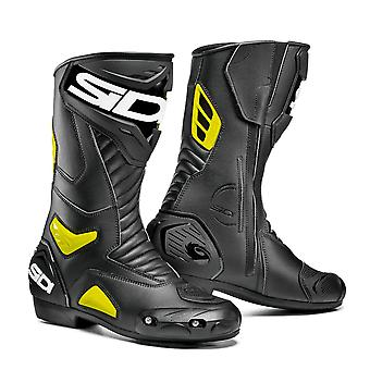 Sidi Performer Black Yellow Boots Special CE