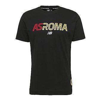 2021-2022 Roma Graphic Tee (Preto)